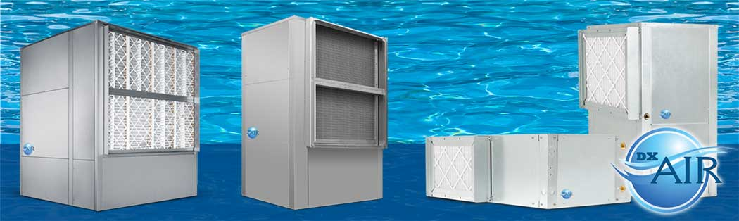 Pool room dehumidification systems dxair humidity for Indoor pool dehumidification design