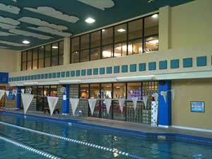 Oveido, FL YMCA pool where a Dectron unit was replaced with a DXair system