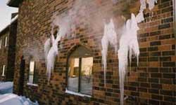 Inadequate pool room vapor barrier fails