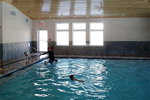 Another indoor pool room with humidity control by a DXair dehumidification system
